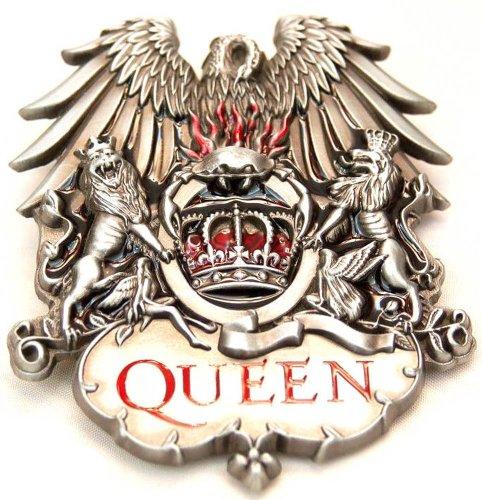 QUEEN ROCK BAND BELT BUCKLE FREDDIE MURCURY Belt Buckle (Queen Buckles)