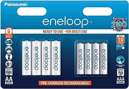 Panasonic Eneloop Ready To Use Ni Mh Akku 8er Elektronik