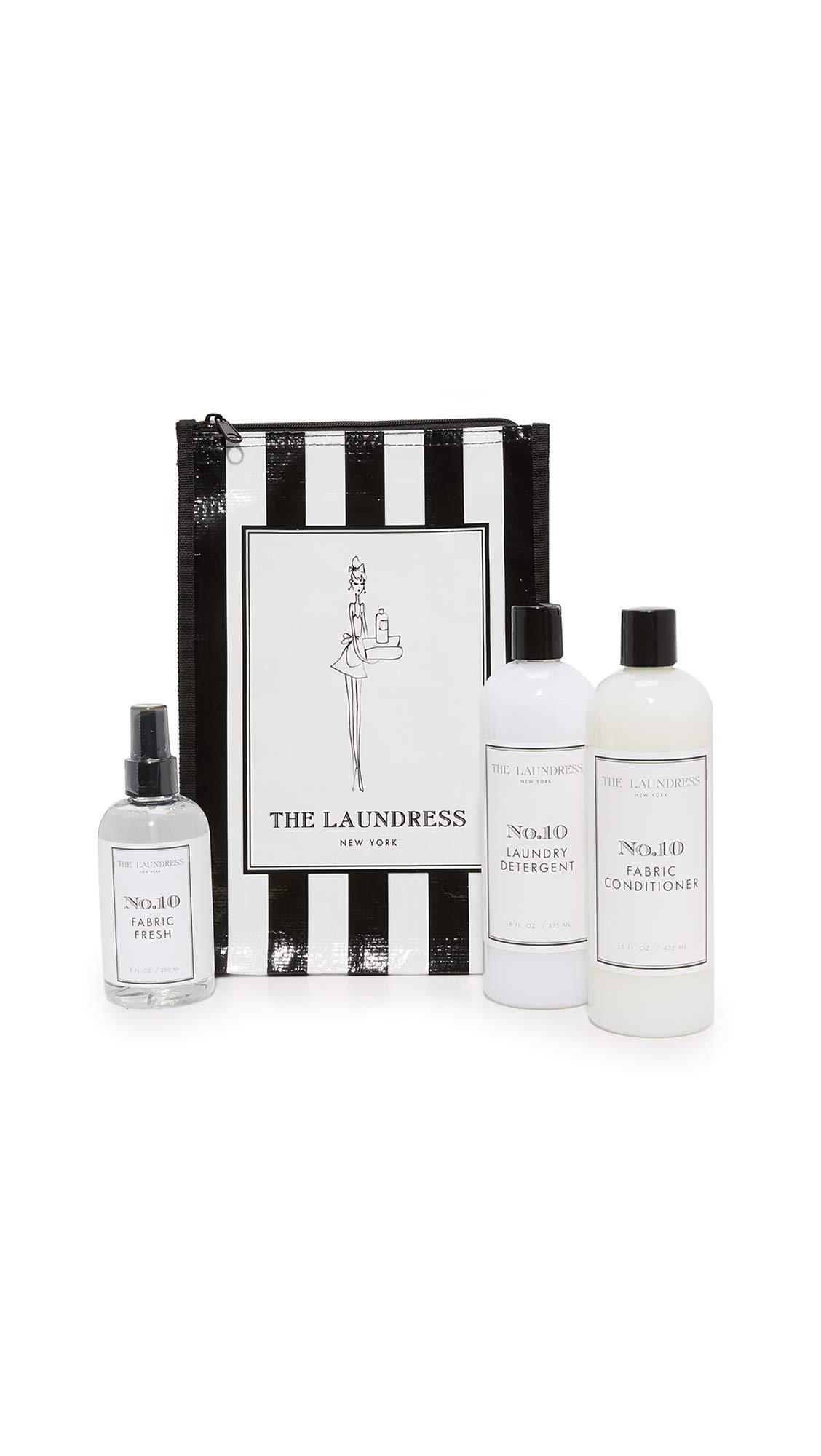 The Laundress Women's No 10 Bundle, Black/White, One Size