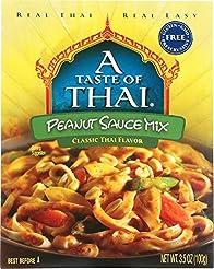 A Tast of Thai Peanut Sauce Mix, 3.5 Oz ...