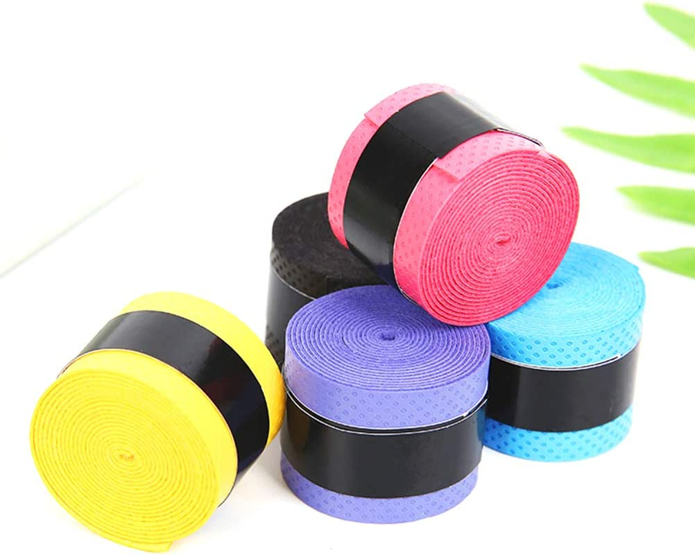 Stretchy Anti Slip Racket Over Grip Roll Tennis//Badminton Squash Handle Tape