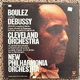 Boulez Conducts Debussy: Images (Complete): Iberia; Gigues; Rondes De Printemps, Danses, Sacree Et Profane; Clarinet Rhapsody; Afternoon of a Faun; La Mer; Three Nocturnes, Jeux, Printemps (Vinyl Lp Box Set)