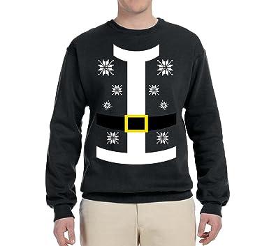 Amazon.com: Cinturón de traje de Papá Noel con copos de ...