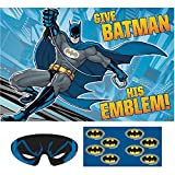 4 Piece, Batman Themed Party Board Game in Blue, 37