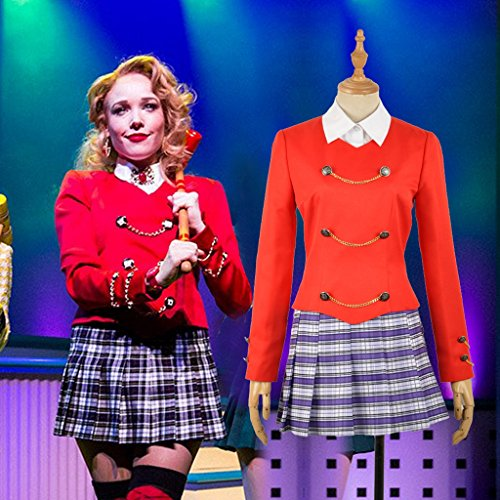 Heathers The Musical Rock Cosplay Chandle Stage School Dress Women Outfit - http://coolthings.us