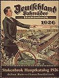 Stukenbrok - Illustrierter Hauptkatalog 1926: August Stukenbrok, Einbeck (Olms Presse)