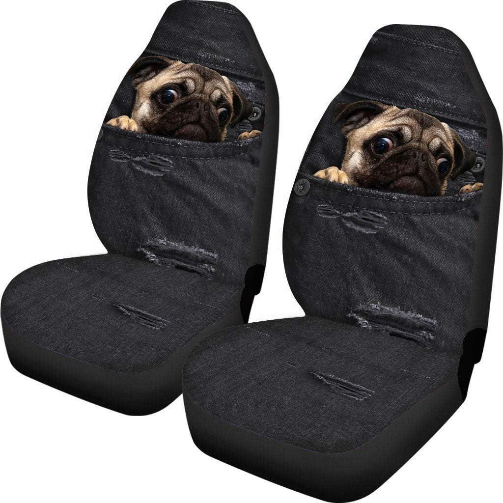 Amazon.com: Bigcarjob - Juego de 2 fundas para asientos de ...