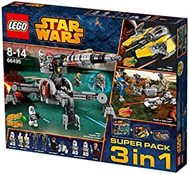 LEGO - Super Pack Star Wars Star Wars: Amazon.es: Juguetes y ...