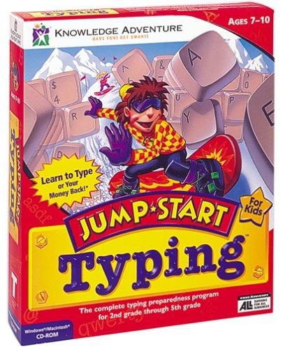 JUMPSTART TYPING B43 - PC