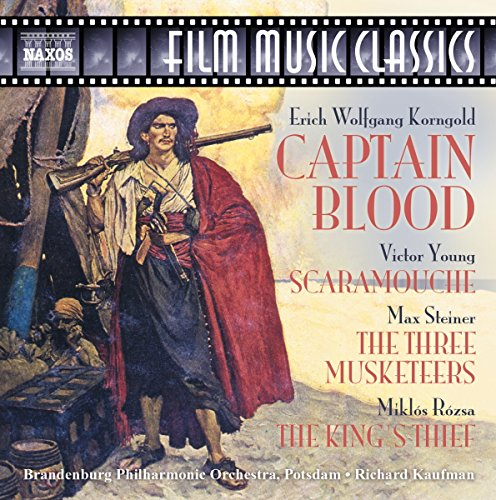 Various Artists Captain Blood Scaramouche The Three Musketeers