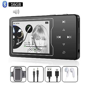 Amazon.com: ChenFec C50 - Reproductor MP3 con Bluetooth, 8 ...