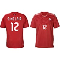 Sinclair Canada Women's Soccer Jersey Home #12 Adult Sizes