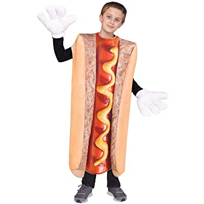 """Fun World \""""Photo Real Hot Dog Costume, One Size, Multicolor: Toys & Games [5Bkhe0306253]"""