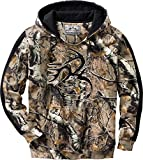 Legendary Whitetails Men's Camo Outfitter Hoodie (Big Game Field Camo, Small)