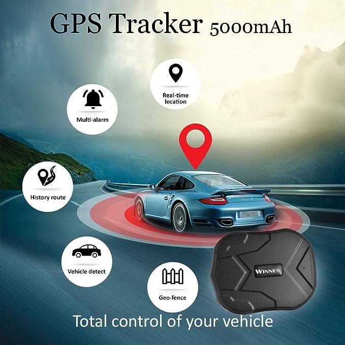 Gps Tracker 5000mah Gps Ortung Für Fahrzeuge Wasserdicht Echtzeit Auto Gps Tracker Starke Magnet Ortungsgerät Für Motorrad Lkw Diebstahlwarnanlage Tk905 Navigation