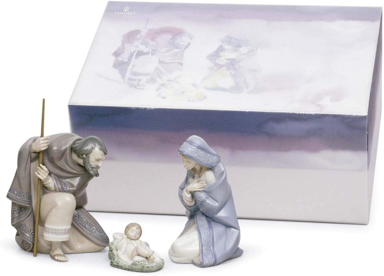 Figura Belén Noche de Paz. Nacimiento de Navidad de Porcelana