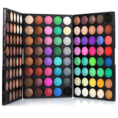Wondere Fashion 120 Colors Long Lasting Cosmetic Powder Smoky Eyeshadow Palette Wedding Makeup Set Matet Shimmer Available -