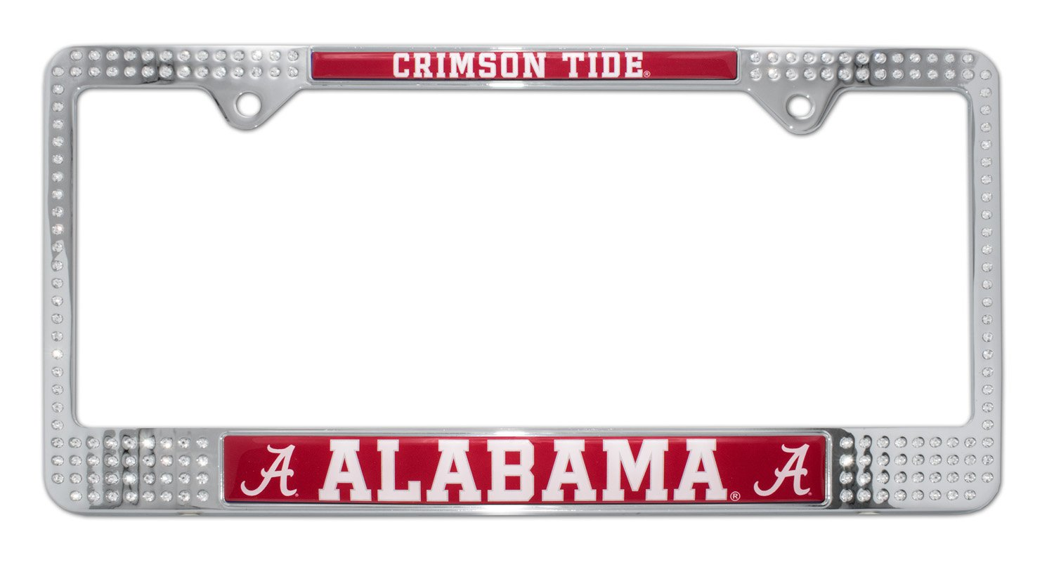 Elektroplate Alabama Crimson Tide 3D Metal License Plate Frame