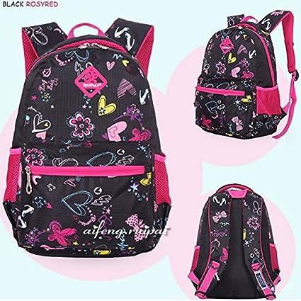 Amazon.com : School Bags Waterproof Mochila Infantil Unisex Kids Backpack Pink : Baby
