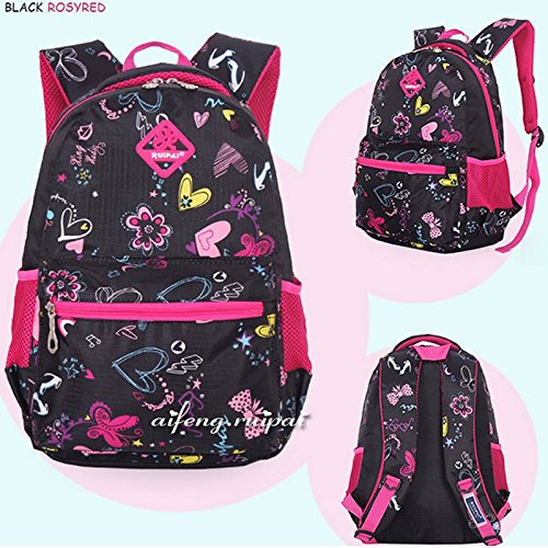 Amazon.com : School Bags Waterproof Mochila Infantil Unisex Kids Backpack Pink : Baby