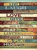 Live Joyfully by Marla Rae Art Print, 18 x 24 inches