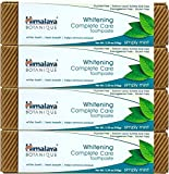 Himalaya Whitening Toothpaste - Simply Mint 5.29 oz/150 gm (4 Pack), Natural, Flouride-Free & SLS Free