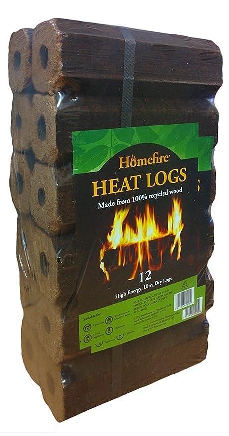 Leños de madera ecológicos Homefire