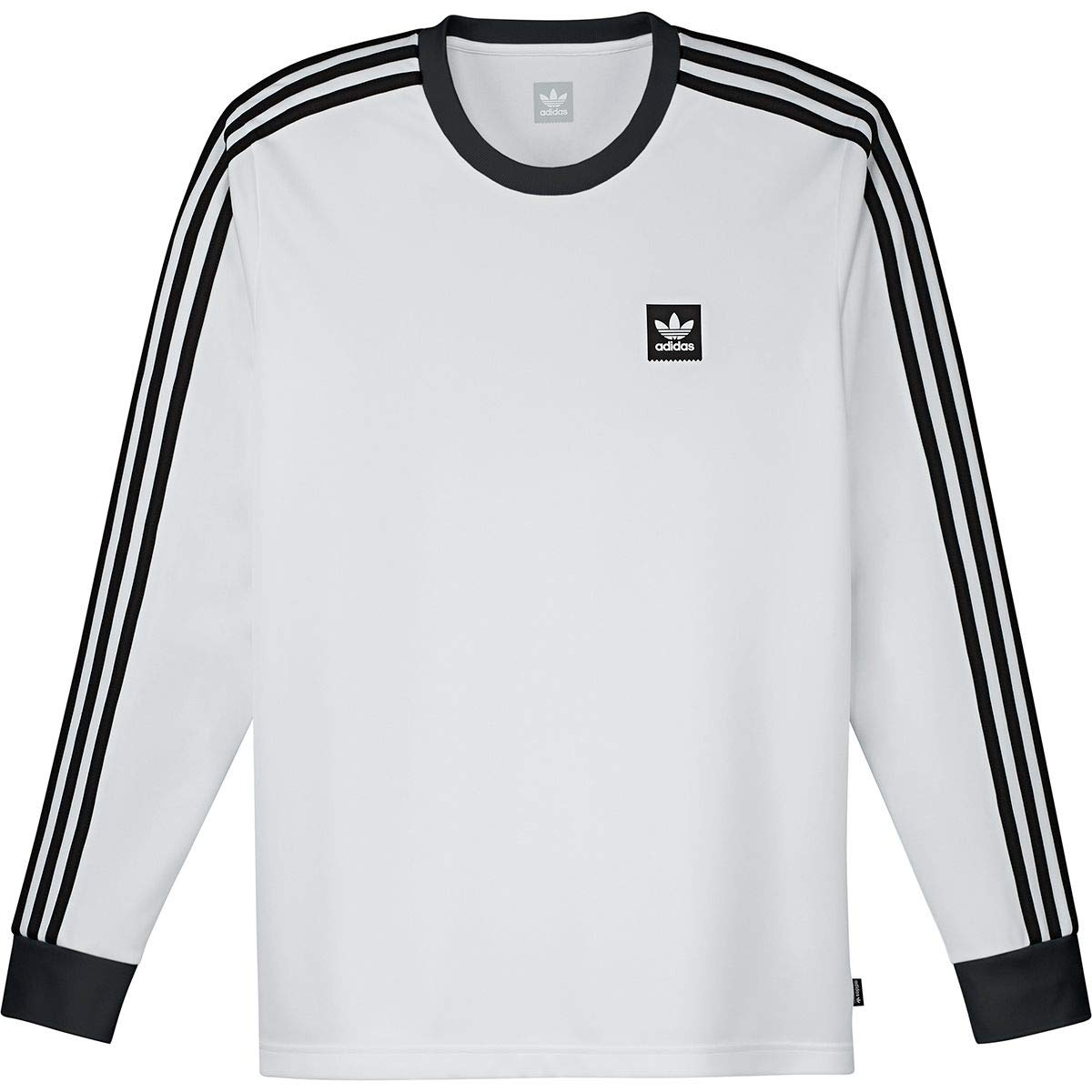 adidas M LS Club Jersey, White, X Large at Amazon Men's