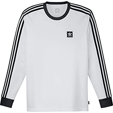 ba12a6dd6cfa7 adidas M LS Club Jersey, White, X-Large at Amazon Men's Clothing store:
