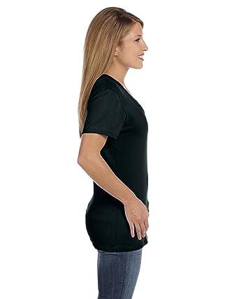 73aa356eeb Hanes Womens Nano-T V-Neck Tee  Amazon.co.uk  Clothing