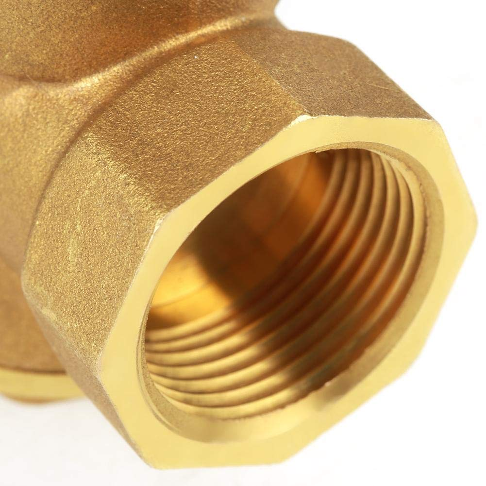 Water pressure reducing valve DN20 Water Pressure Gauge 1.6Mpa Brass Adjustable Water Pressure Regulator Reducer with Gauge Meter