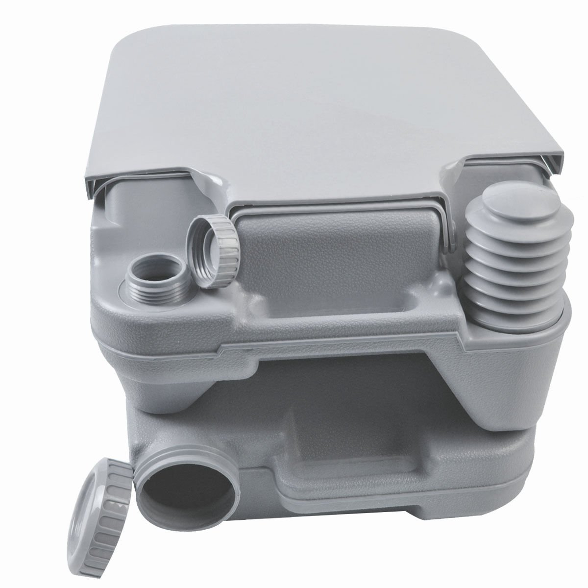 Portable Toilet Travel Camping Outdoor Indoor Toilet Potty Flush 2.8 Gallon 10L by Caraya (Image #3)
