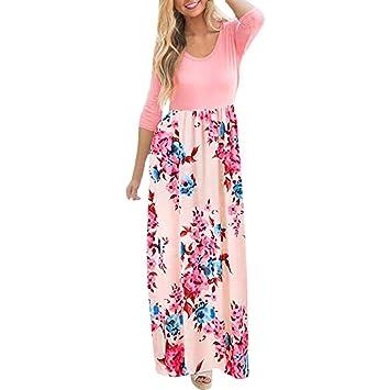 Mujer vestido otoño suave y suelto moda 2018 urbano streetwear,Sonnena Vestido largo de manga