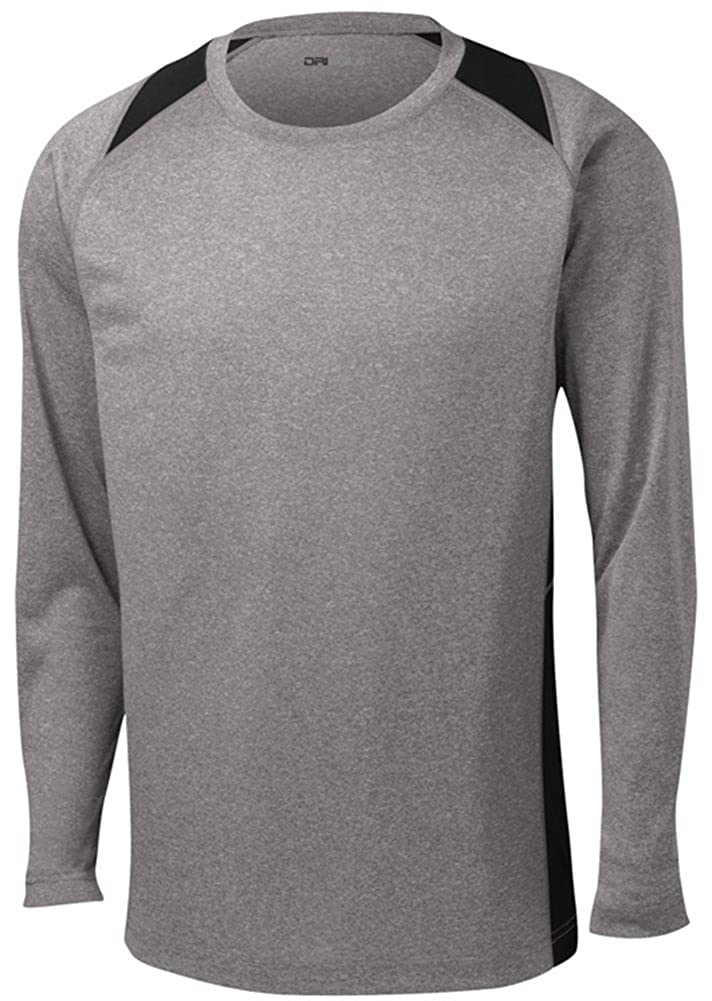 Amazon.com: DRI-EQUIP Long Sleeve Moisture Wicking Athletic Shirts ...