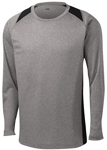 905d372805 Image Unavailable. Image not available for. Color: DRI-EQUIP Long Sleeve  Moisture Wicking Athletic ...