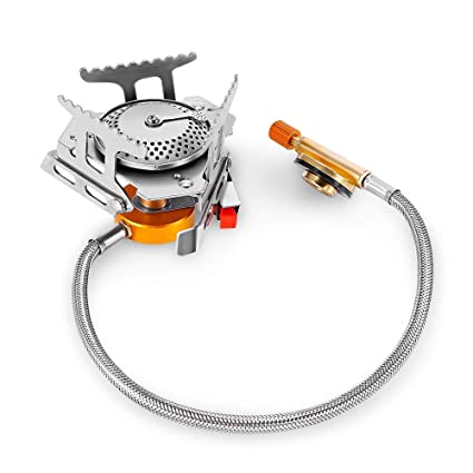 Camping-Küchenbedarf Foldable Outdoor Camping Gas Stove Portable Furnace Hiking Picnic Gas Stove L