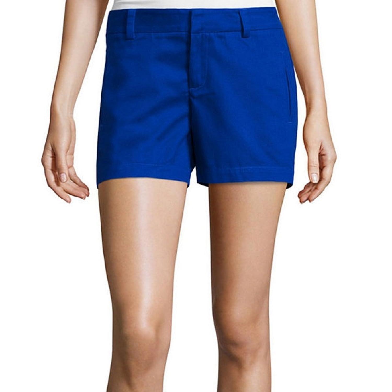 Stylus Twill Cotton Shorts Exotic Blue Size 4
