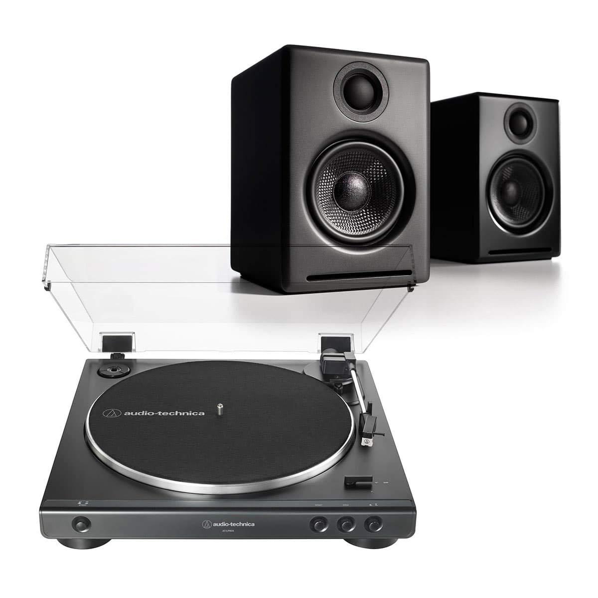 Amazon.com: AudioTechnica AT-LP60X-BK Fully Automatic Belt ...