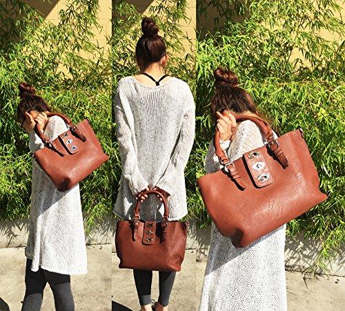 in Collection Bag Design Bag Closure Pink lock Handbag Flap Hobo Flip Fraless awq1Z4q