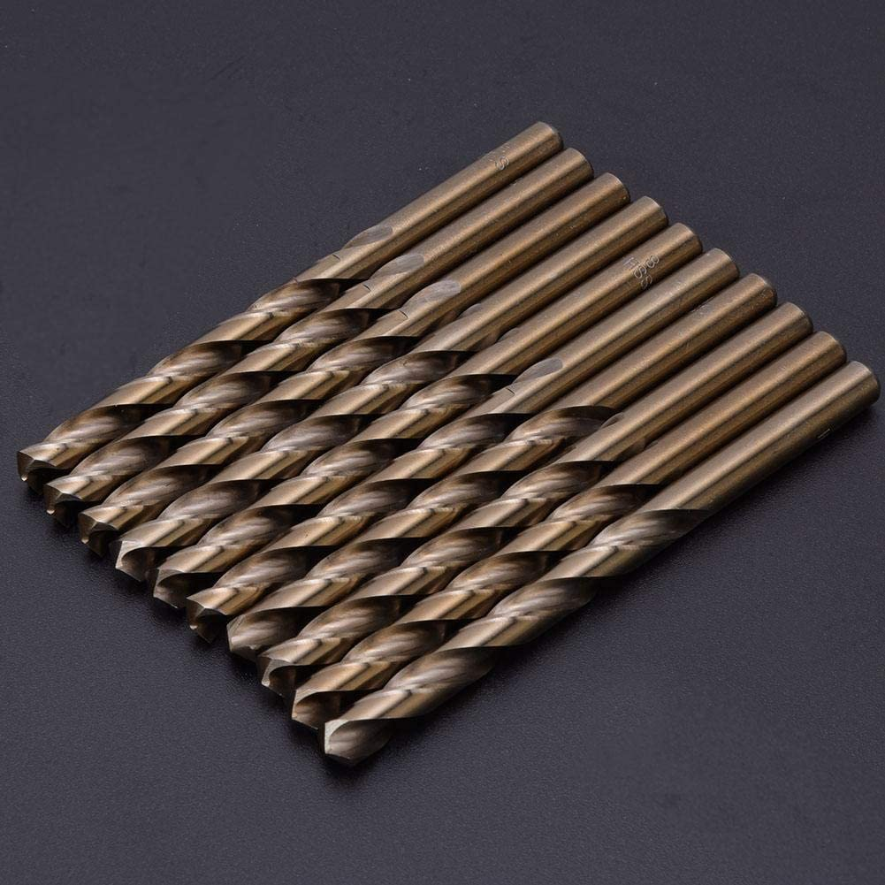 High Speed Drill Bits 1 Box High Speed Drilling Tool for Electric Drills for Steel Stainless Steel Iron 8mm//8.5mm 8.0mm