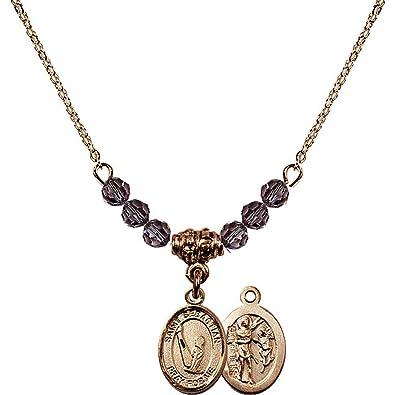 Bonyak Jewelry Hamilton - Collar Chapado en Oro de 18 ...