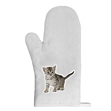 Mygoodprice guante de cocina manopla gato 6: Amazon.es: Jardín