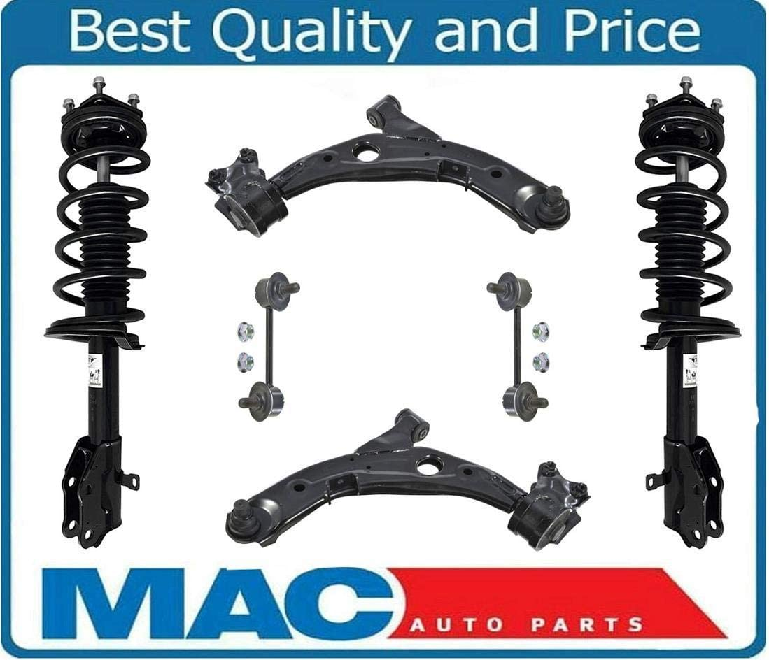 Front Pair Complete Strut Assembly for 07-12 Mazda CX7