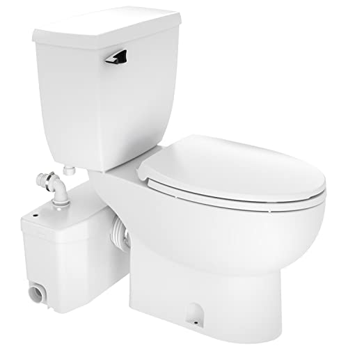 Saniflo SaniPlus 2-Piece Toilet