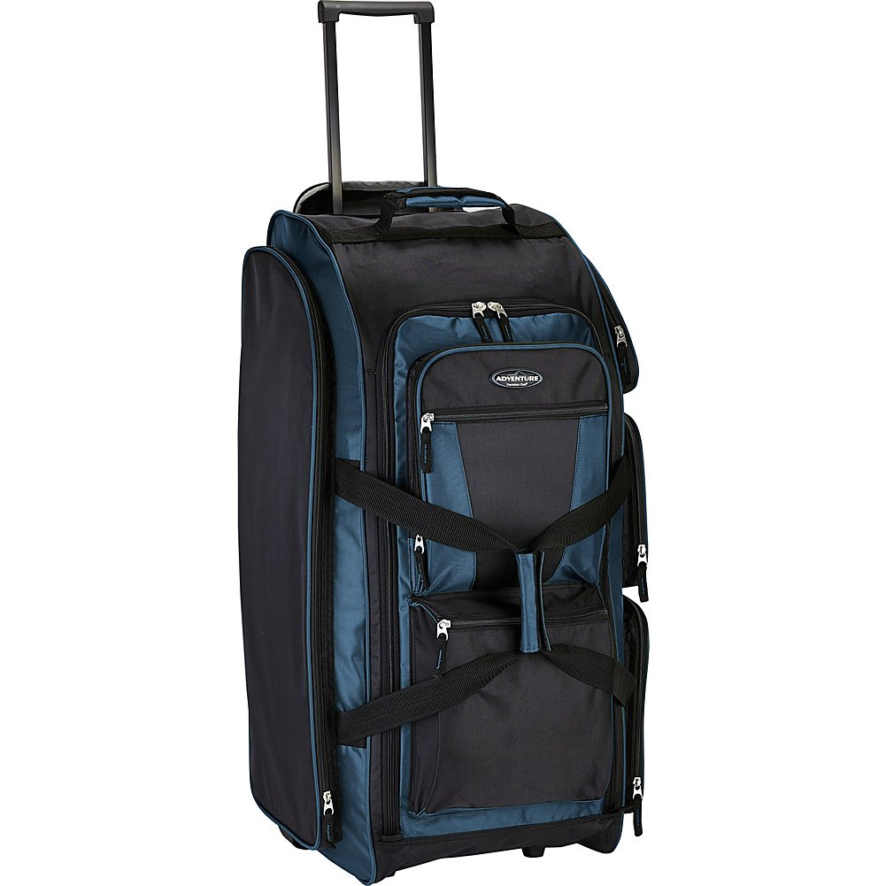 Travelers Club Luggage 30'' Xpedition Multi-Pocket Rolling Duffel- Exclusive
