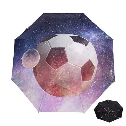 YOUZHA Paraguas Marcas Paraguas automático de fútbol Lluvia ...