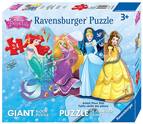 Ravensburger Disney Princess Pretty Princesses Shaped Floor Puzzle (24 Piece)