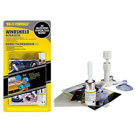 belupai Kit de reparación de Parabrisas Kit de reparación de Chips de Parabrisas de automóviles DIY