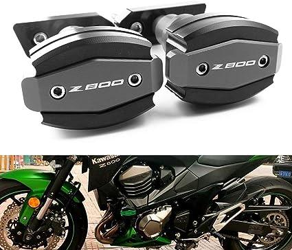 Motorrad Sturzschutz Sturzpads Crashpads Frame Sliders Falling Crash Pad Protektoren Passend Für Kawasaki Z800 2013 2014 2015 Auto