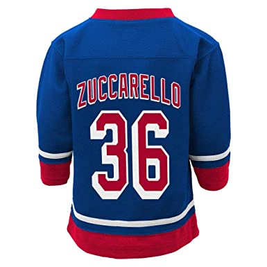 c49c5a757 Outerstuff Mats Zuccarello New York Rangers Blue Infants Toddler Home Fashion  Jersey (2T)